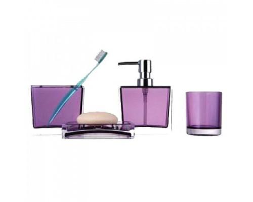 F302-3 набор аксессуаров для ванной комнаты фиолетовый
