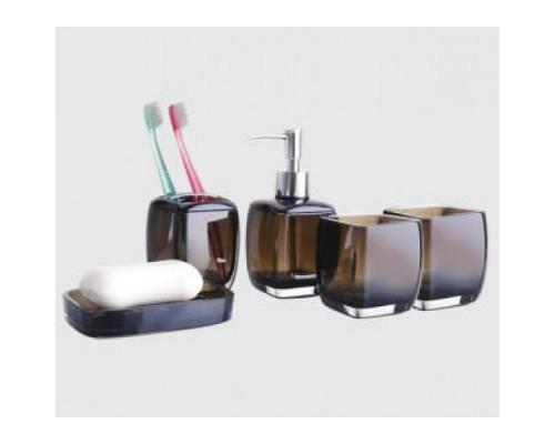 F301-2 набор аксессуаров для ванной комнаты коричневый