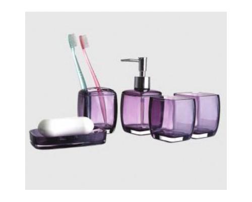 F301-3 набор аксессуаров для ванной комнаты фиолетовый