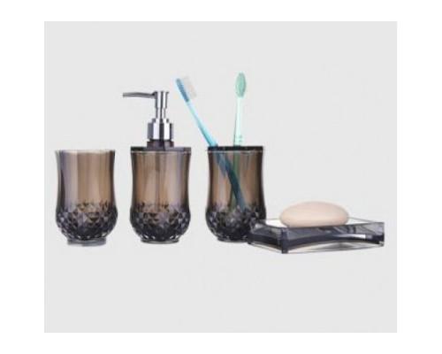 F303-2 набор аксессуаров для ванной комнаты коричневый