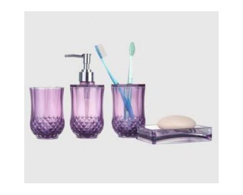 F303-3 набор аксессуаров для ванной комнаты фиолетовый