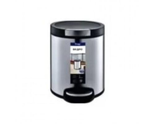 F711 сатин  ведро для мусора 5 л