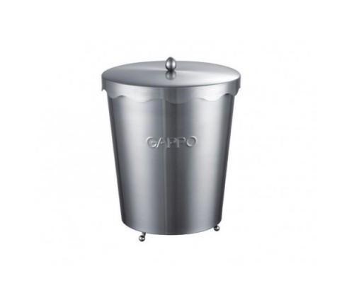 G701 ведро для мусора 7 л сатин