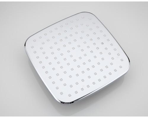 F003-20 тропический душс очища. функ. 200*200 мм хром-белый