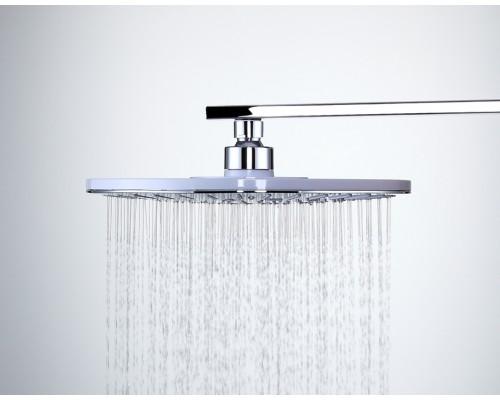 F008-25 тропический душ белый/ хром