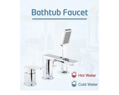 F1146 Смеситель для ванны врезной